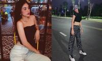 Diện loạt trang phục đơn giản, Tiểu Vy vẫn cực kỳ gợi cảm và ngày càng ra dáng fashionista