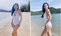 Sau khi giảm 2kg, Mai Phương Thuý liên tục khoe dáng nóng bỏng với bikini