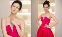 Hoa hậu Khánh Vân tái xuất lộng lẫy sau dịch COVID-19, khoe vòng 1 gợi cảm táo bạo