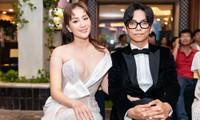 Khánh Thi khoe ngực táo bạo tại lễ trao giải 'Quả Bóng Vàng'
