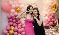 Mai Phương Thuý mặc váy trễ ngực sexy, hội ngộ dàn 'bông hậu' ở tiệc sinh nhật Tú Anh
