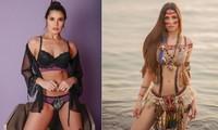 Không thể rời mắt trước đường cong 'bỏng rẫy' của tân Hoa hậu Trái đất Brazil