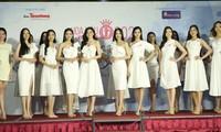 Top 60 thí sinh khoe sắc tại họp báo Vòng Bán kết toàn quốc Hoa hậu Việt Nam 2020