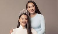 Mẹ Hoa hậu Tiểu Vy gây sốt với nhan sắc trẻ trung trong bộ ảnh 20/10 cùng con gái