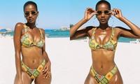 Đường cong 'bỏng mắt' của mỹ nhân da màu vừa lên ngôi Hoa hậu Hoàn vũ Nam Phi