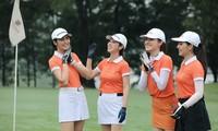Dàn Hoa hậu, Á hậu hào hứng tranh tài tại Tiền Phong Golf Championship 2020