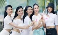 Nét hồn nhiên 'toả nắng' của những cô gái HHVN 2020 trên thành phố biển Vũng Tàu