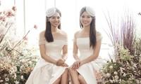 Á hậu Thuỵ Vân sẽ thiết kế váy cưới cho bạn gái kém 16 tuổi của NSND Công Lý
