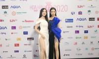 Dàn Hoa hậu, Á hậu khoe dáng nóng bỏng tại họp báo Chung kết toàn quốc HHVN 2020