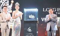 Vương miện dành cho tân Hoa hậu Việt Nam 2020 được ra mắt trong buổi họp báo hôm 11/11.