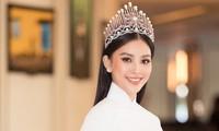 Hoa hậu Tiểu Vy chia sẻ trước giờ giao lại vương miện cho người kế nhiệm