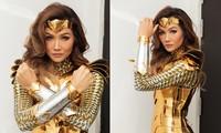 Tạo hình Wonder Woman của H'hen Niê.