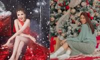 Dàn Hoa hậu, Á hậu trang hoàng nhà cửa lộng lẫy chuẩn bị đón Giáng Sinh