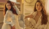 Kết thúc nhiệm kỳ, nhan sắc Hoa hậu Tiểu Vy ngày càng 'thăng hạng' đầy quyến rũ