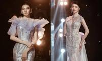 Á hậu Phương Anh, Ngọc Thảo diện váy đuôi cá lộng lẫy trong chương trình đón năm mới 2021