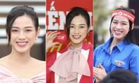 Những hình ảnh đẹp rạng rỡ của Hoa hậu Đỗ Thị Hà trong hành trình Chủ nhật Đỏ 2021