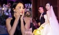 Khoảnh khắc hoa hậu Tiểu Vy bật khóc vì xúc động trong đám cưới Á hậu Thuý An gây chú ý