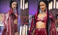 H'Hen Niê tái xuất với phong cách đường phố, mặc áo crop-top khoe hình thể nóng bỏng