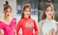 Nữ tiếp viên hàng không lọt Top 10 HHVN 2020 khoe nhan sắc rạng rỡ với áo dài Tết