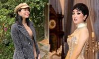 Á hậu Phương Anh giản dị xinh đẹp, Hoa hậu Đền Hùng Giáng My cá tính với mái tóc tém