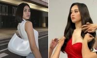 Hoa hậu Tiểu Vy mặc đơn giản vẫn đẹp hút hồn, Mai Phương Thuý diện váy cúp ngực nóng bỏng