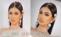Sau màn catwalk lốc xoáy 3 vòng, Á hậu Ngọc Thảo hóa thân thành gái Thái xinh đẹp khiến fans trầm trồ