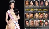 Á hậu Phương Anh được Missosology dự đoán giành ngôi Á hậu 1 Miss International 2021.