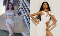 'Người đẹp Khả ái' Tố Như sexy với bikini, Hoàng Thuỳ diện váy cắt xẻ táo bạo 'bỏng mắt'
