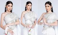 Sau khi bị hack instagram, Ngọc Thảo tung bộ ảnh đẹp 'đỉnh cao' khi mặc quốc phục Thái Lan