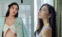 Lương Thuỳ Linh mặc áo crop-top lạ mắt sexy, Ngọc Thảo xinh đẹp rạng rỡ ở khu cách ly