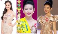 Hai người đẹp hiếm hoi giành giải 'Mặc trang phục dạ hội đẹp nhất' tại Hoa hậu Việt Nam