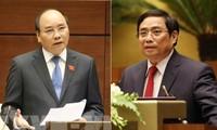 Ông Nguyễn Xuân Phúc ứng cử khối Chủ tịch nước, ông Phạm Minh Chính ứng cử khối Chính phủ