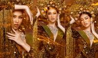 Hé lộ trang phục dân tộc nặng 30 kg cực lộng lẫy của Ngọc Thảo tại Miss Grand