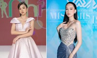 Á hậu Thuý An mặc váy cúp ngực sexy, 'Người đẹp làn da' Phương Quỳnh kiêu sa tựa 'nữ thần'