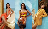 Hoa hậu Tiểu Vy khoe body hoàn hảo cùng làn da nâu gợi cảm trong bộ ảnh chào hè