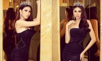 Á hậu Ngọc Thảo diện váy cúp ngực nóng bỏng trong ngày cuối nhiệm kỳ Miss Grand Vietnam