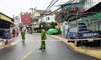 Phong tỏa một đoạn trên đường Nguyễn Trung Trực