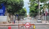 Phong tỏa một điểm phòng chống COVID-19 ở đường Hai Bà Trưng, TP Buôn Ma Thuột