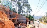 Cấp phép khoét núi xây khách sạn Diamon HIll