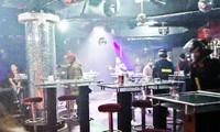 Lực lượng chức năng kiểm tra bar V-Club