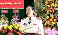 Đại tá Trần Minh Tiến nhận nhiệm vụ tại Lâm Đồng
