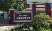 Trụ sở Huyện ủy Krông Nô