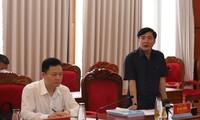 Ông Bùi Văn Cường khẳng định, Chương trình hành động sẽ là biện pháp chống chạy chức chạy quyền