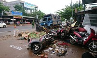 Hiện trường vụ tai nạn khiến 5 người chết