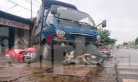Hiện trường vụ tai nạn thảm khốc khiến 5 người thiệt mạng