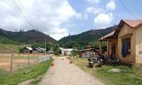 Khu vực cách lý ở thôn 6, xã Quảng Hòa