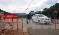 Chốt kiểm soát bạch hầu ở xã Quảng Hòa, huyện Đắk G'long (Đắk Nông)
