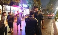 Hiện trường vụ võ sĩ Trương ĐÌnh Hoàng bắt tên trộm trong đêm