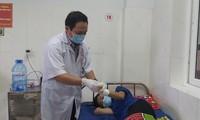 Một trường cấp cứu ở Bệnh viện Đa khoa vùng Tây Nguyên do phá nổ