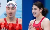 Vẻ đẹp thuần khiết của nữ thần bơi lội Trung Quốc vừa phá kỷ lục Olympic